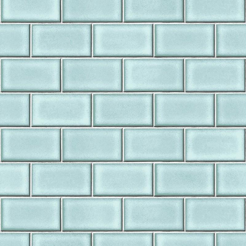 sample berkeley brick tile wallpaper in