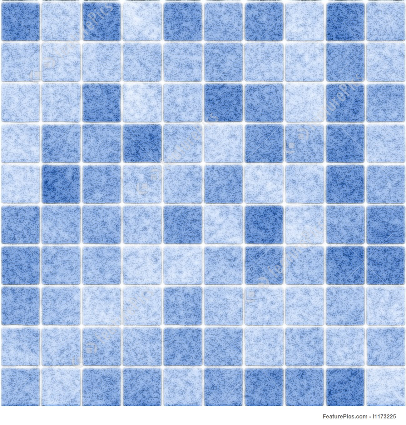 seamless tile image in shades of blue