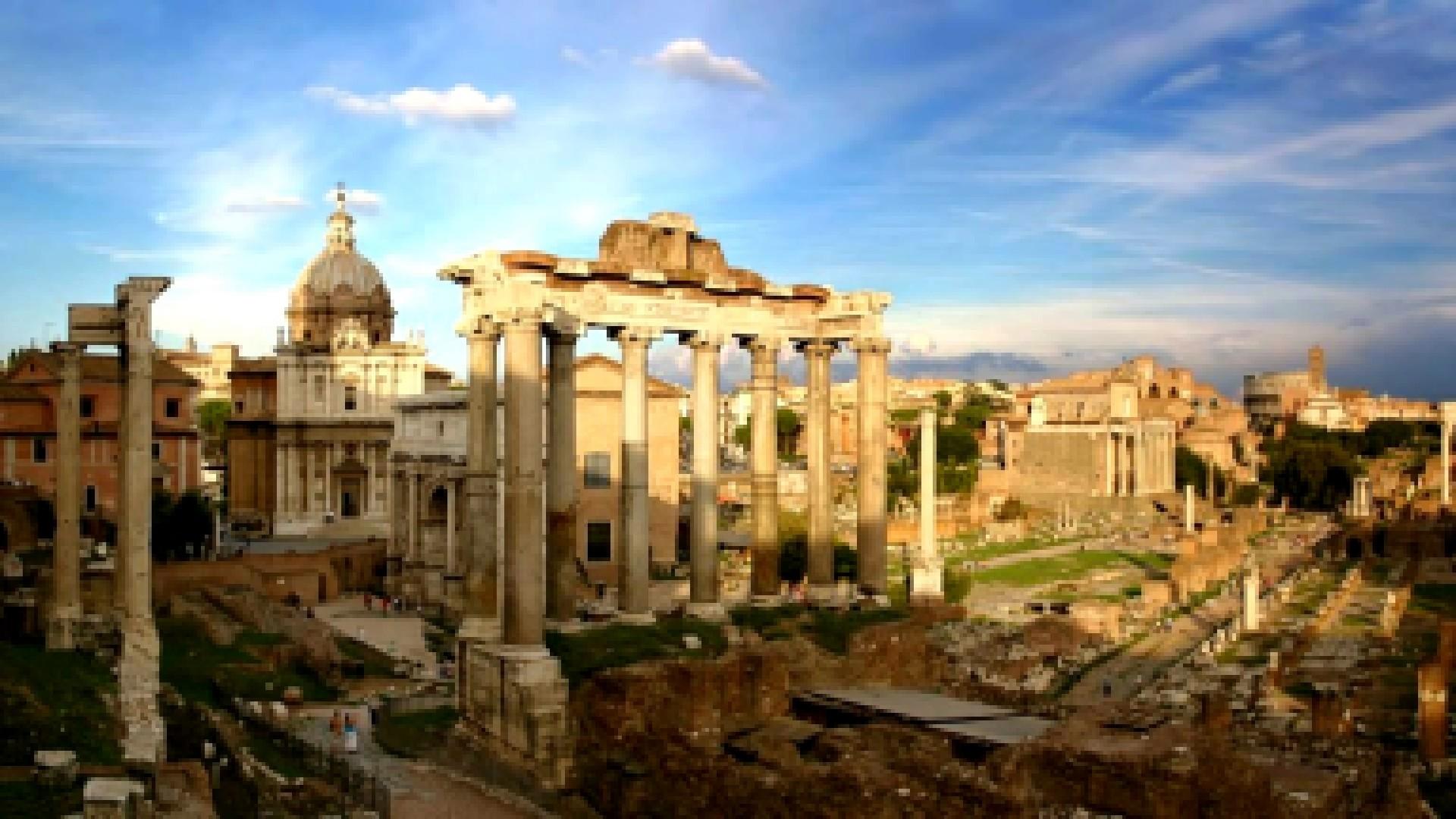 Con il suo plurale, parati, ci si riferisce ormai di norma in modo specifico ai rivestimenti delle pareti. Forum Romanum Carta Da Parati Antica Di Roma 1920x1080 Wallpapertip