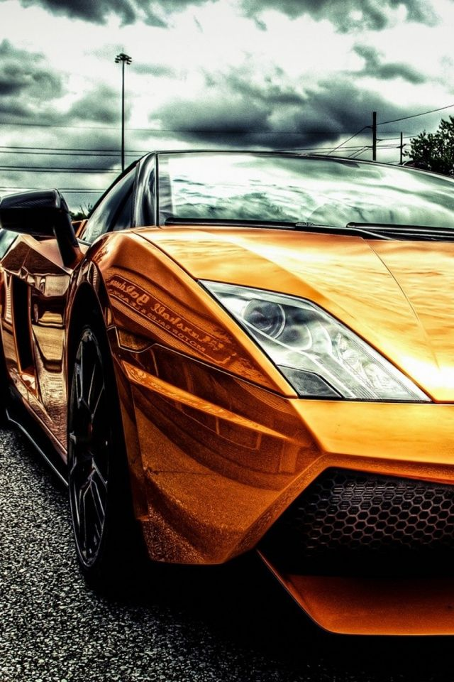 Bystander video captures the moment when a lamborghini gallardo spins out and crashes on a georgia street. Lamborghini Car Wallpaper For Mobile 640x960 Download Hd Wallpaper Wallpapertip