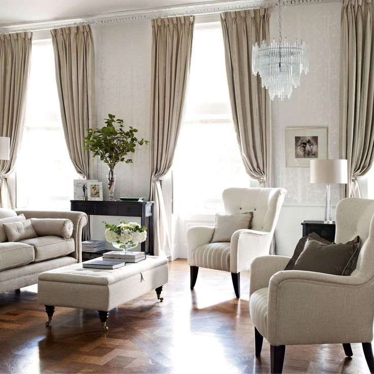 living room curtain color ideas