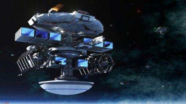 Sci fi space spaceship spacecraft futuristic wallpaper ...