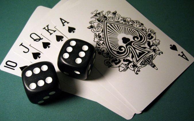 Resultado de imagem para poker cards and dice