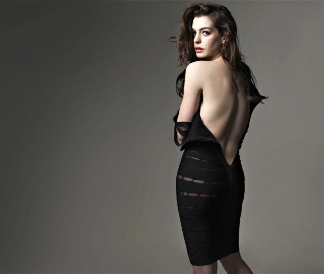 Anne Hathaway Actress Women Females Girls Sexy Babes Face Eyes Z