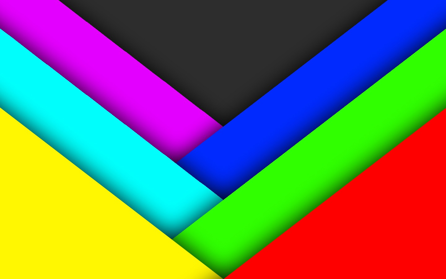 Green Abstract Blue Red Yellow Gray Violet Colors