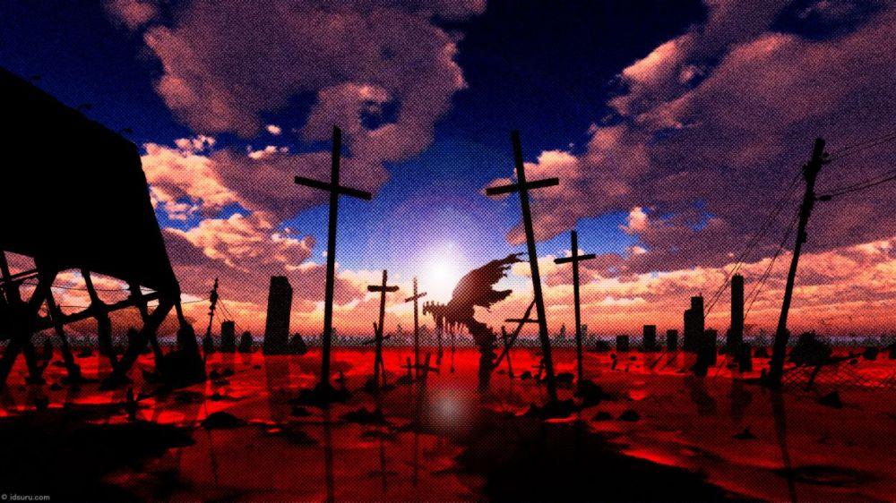 Resultado de imagen para evangelion wallpaper