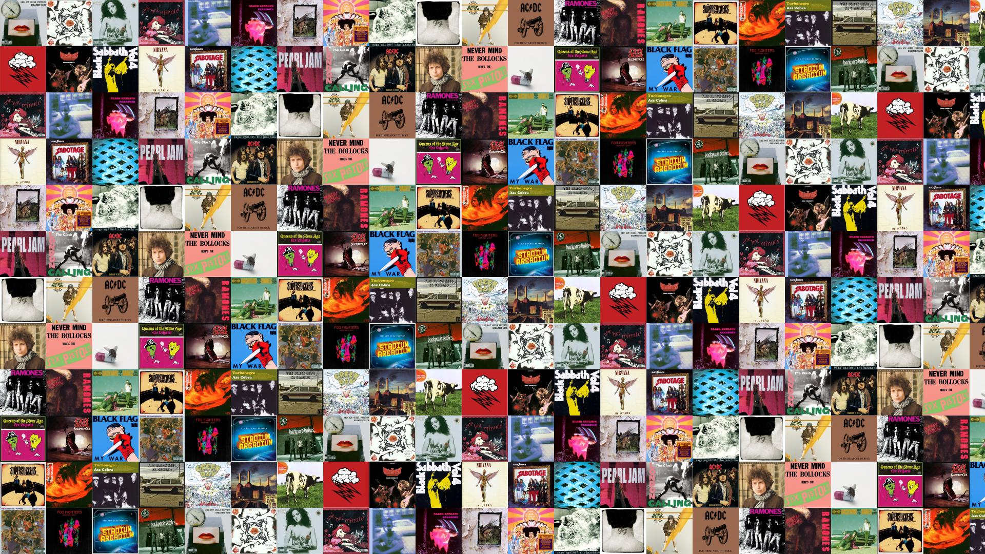 Alternative Bands Collage
