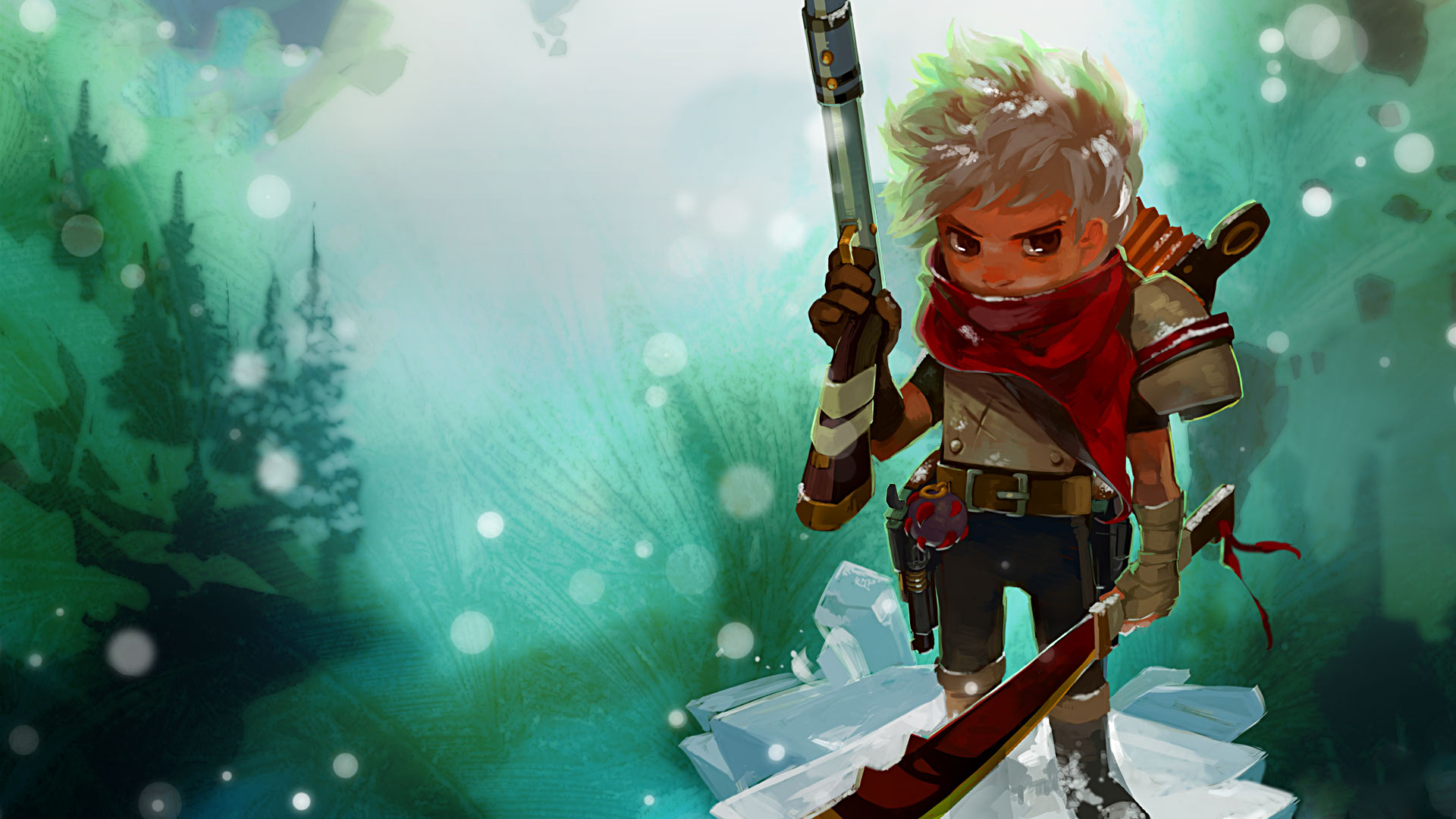 Bastion Game Games Warrior Warriors Weapon Weapons Cartoon
