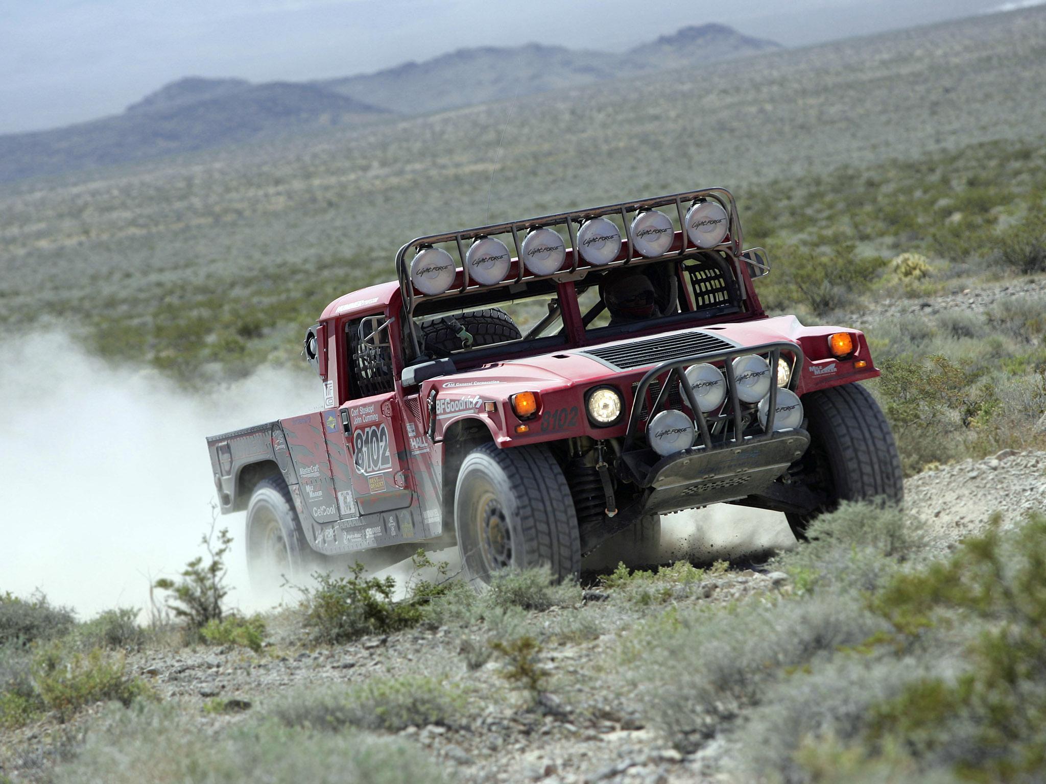 2006 Hummer H1 Alpha Rally Truck offroad 4x4 race racing vee