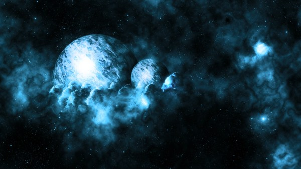 Space planets planet nebula stars wallpaper 1920x1080
