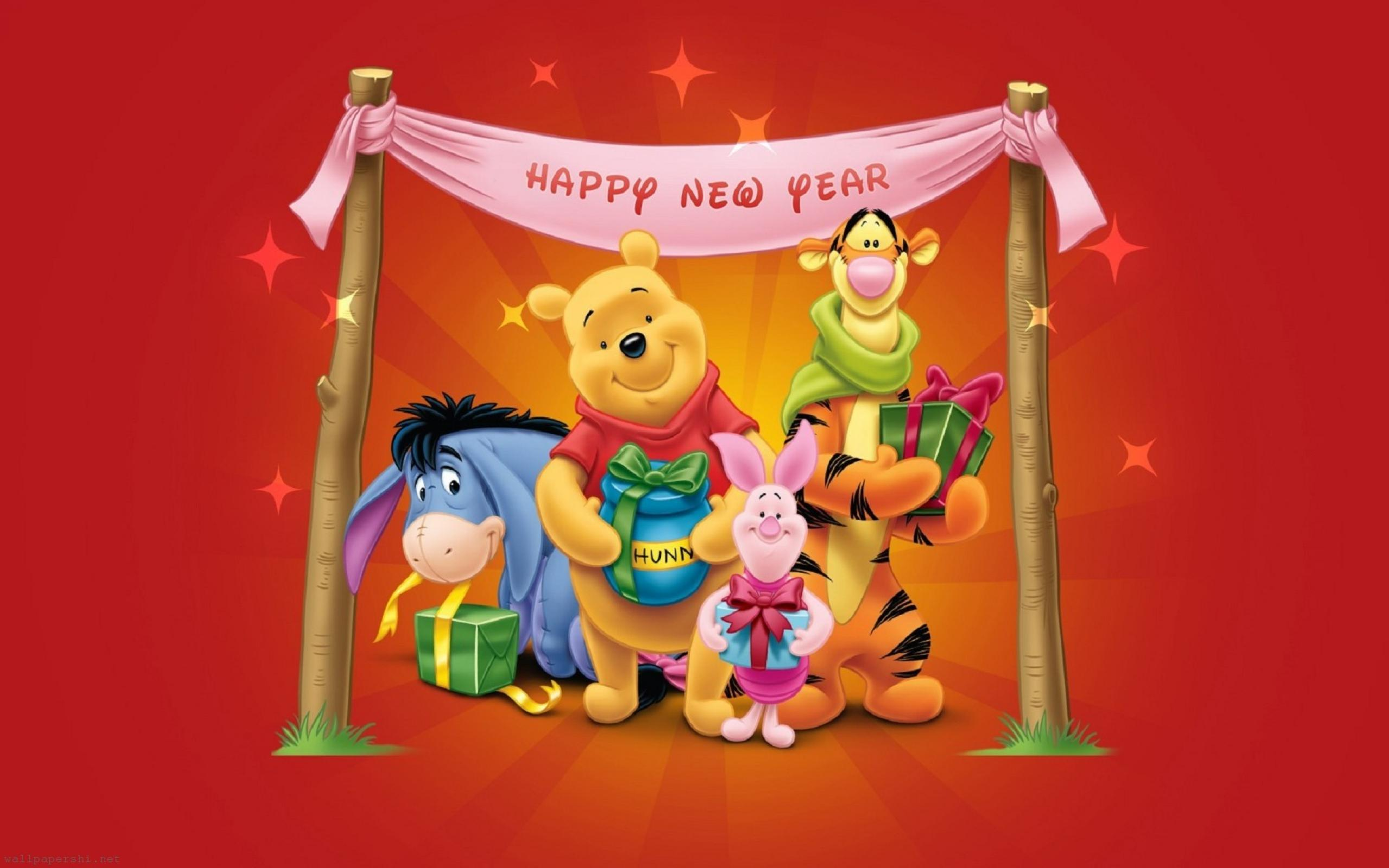 disney new year wallpapers