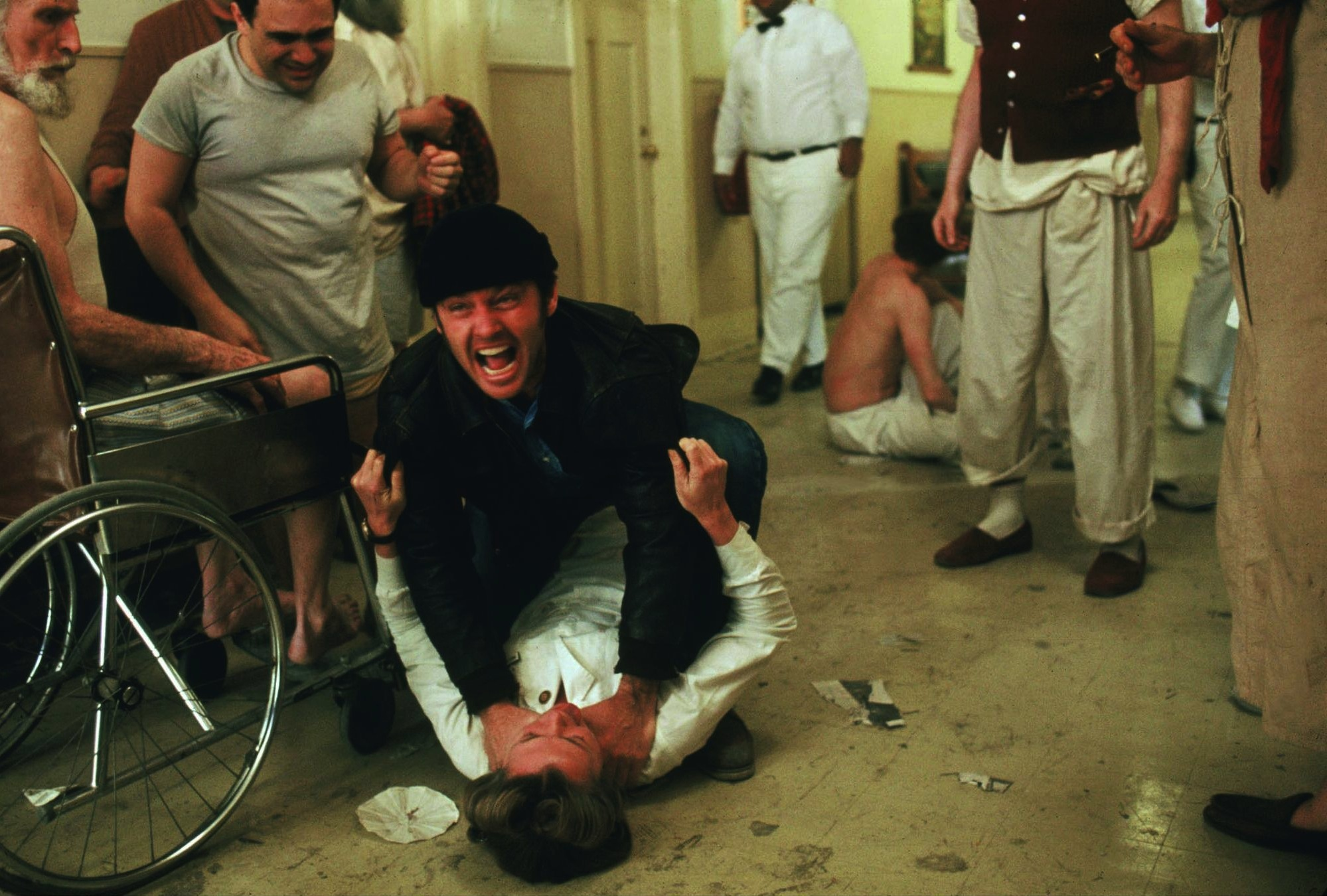 Image result for nurse ratched and victims jack nicholson