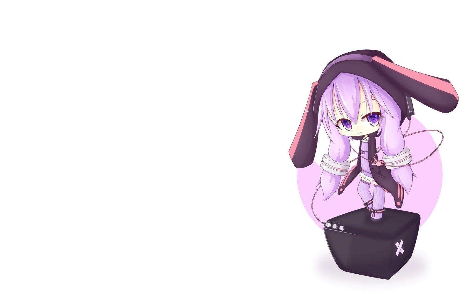 Chibi Headphones Anime Girl