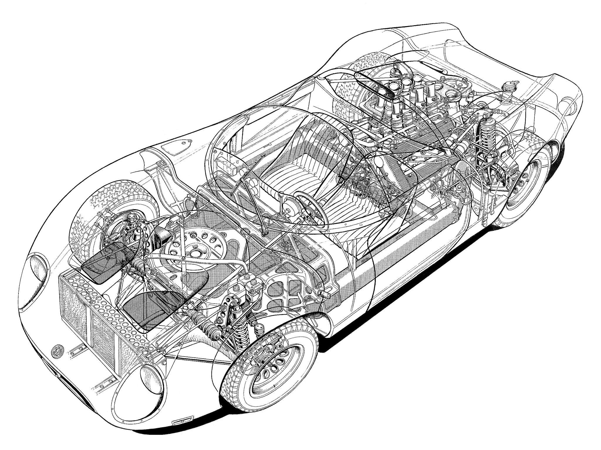Alfa Romeo Tipo 33 2 Fleron Race Racing Classic