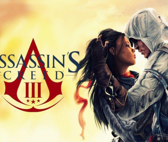 Love Kissing Assassins Creed X  Wallpaperup