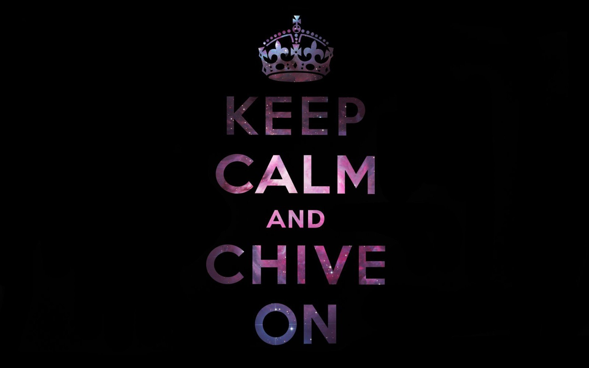 Keep Calm And Chive Wallpaper