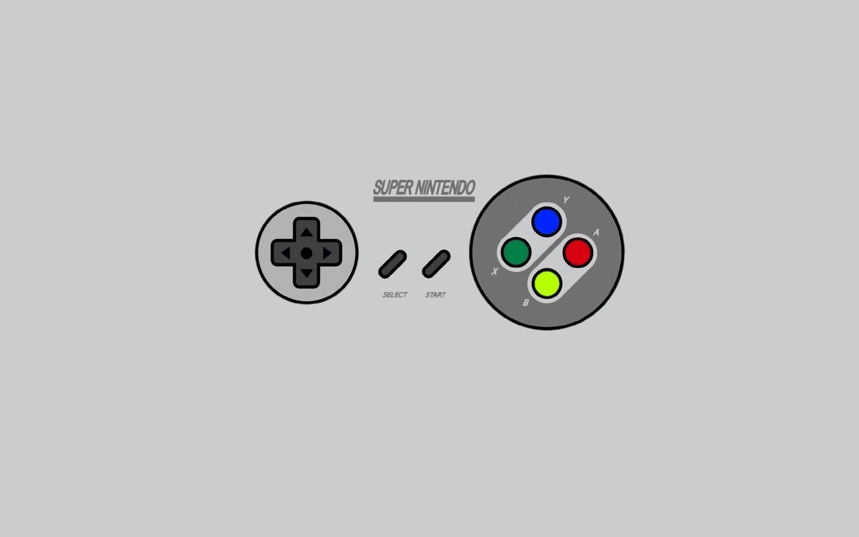 Nintendo Minimalistic Super Nintendo Simple Background Wallpaper
