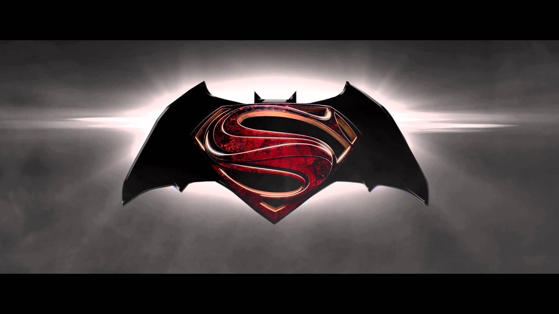 Batman Vs Superman Logo Wallpaper
