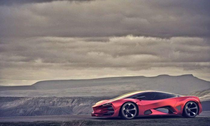 2015 lada raven supercar concept cars wallpaper | 2048x1226 | 629780