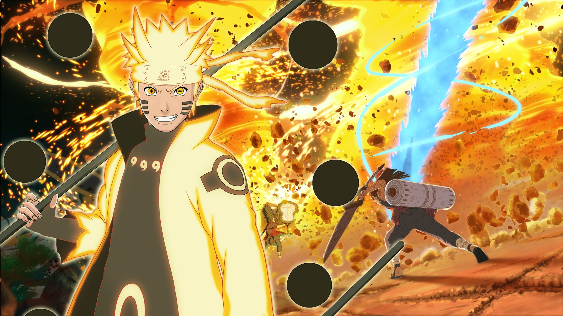 NARUTO Shippuden Ultimate Ninja Storm Anime Action