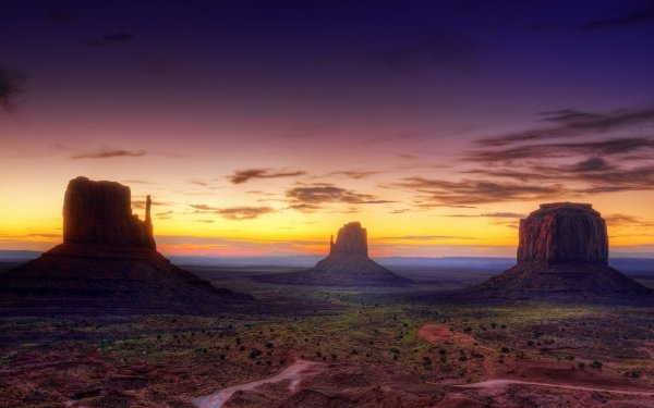 Monument Valley Arizona USA USA desert canyon sunset