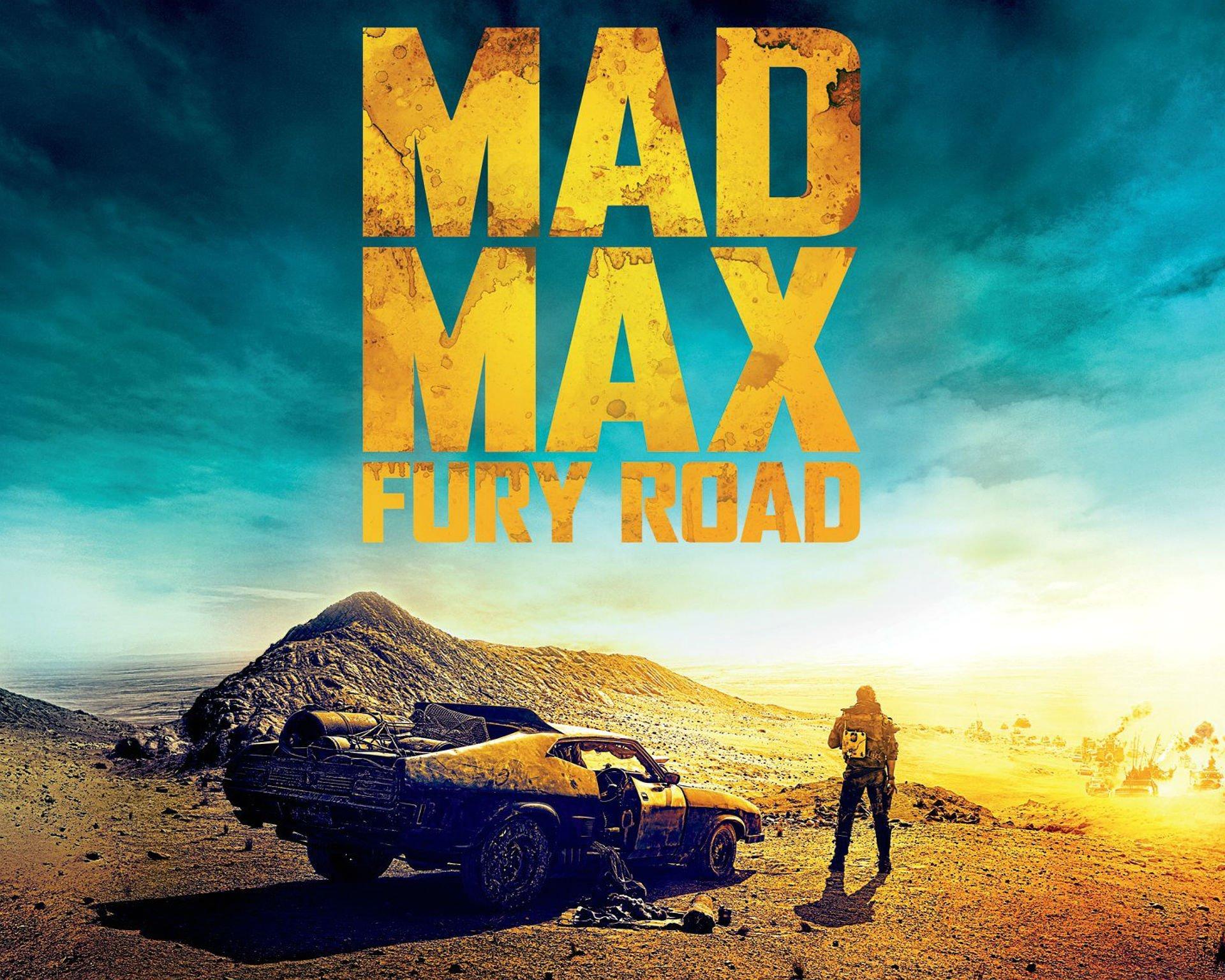 MAD MAX FURY ROAD Sci Fi Futuristic Action Fighting