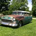 1955 Chevrolet Bel Air Stationwagon Hot Rod Rods Custom Wallpaper 1600x1195 773326 Wallpaperup