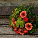 Autumn Flowers Bouquet Gerbera Autumn Colours Wallpaper 1920x1280 1059061 Wallpaperup