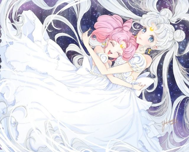 Image result for princess serenity chibi-usa