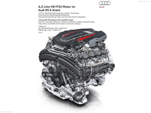 Audi RS6 Avant 4GC7 MkI 2013 Engine wallpaper | 1600x1200