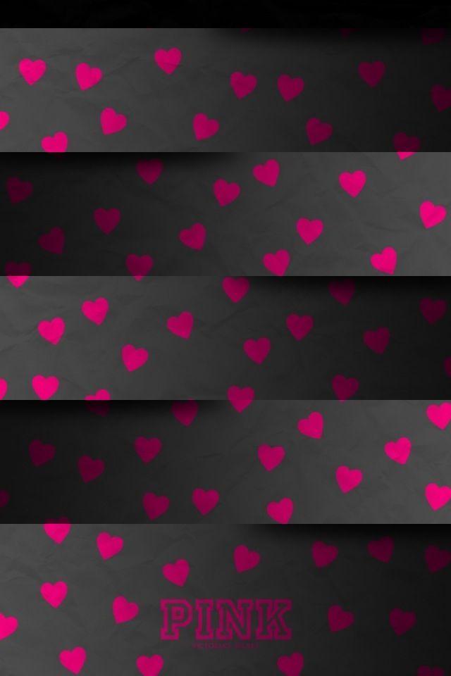 Casadeco carta da parati a pois e mongolfiere montgolfiere (rosa/grigio), dalla collezione my little world. Carta Da Parati Rosa Per Iphone Rosa Modello Rosso Design A Pois 32562 Wallpaperuse
