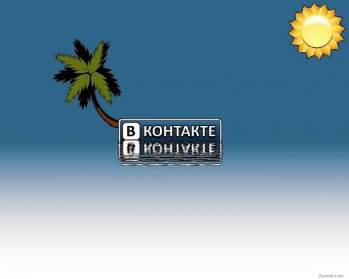 В Контакте обои, скачать картинки на рабочий стол Лого ...