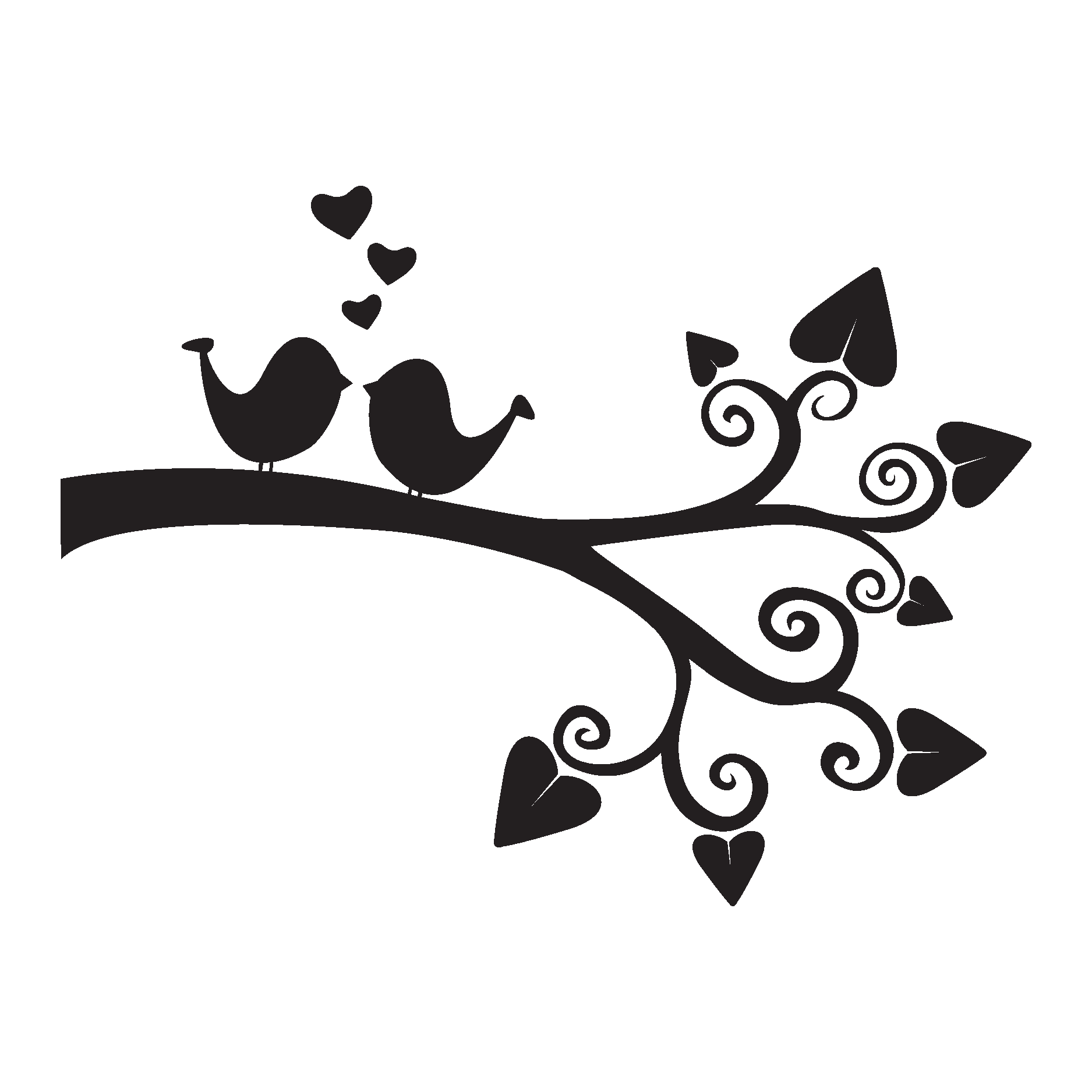 Love Birds Wall Quotes Decal