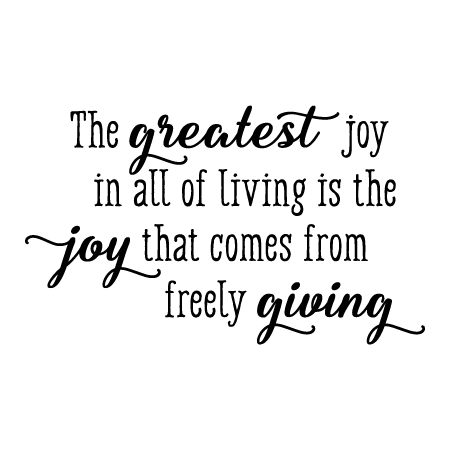 Image result for joy of giving quotes