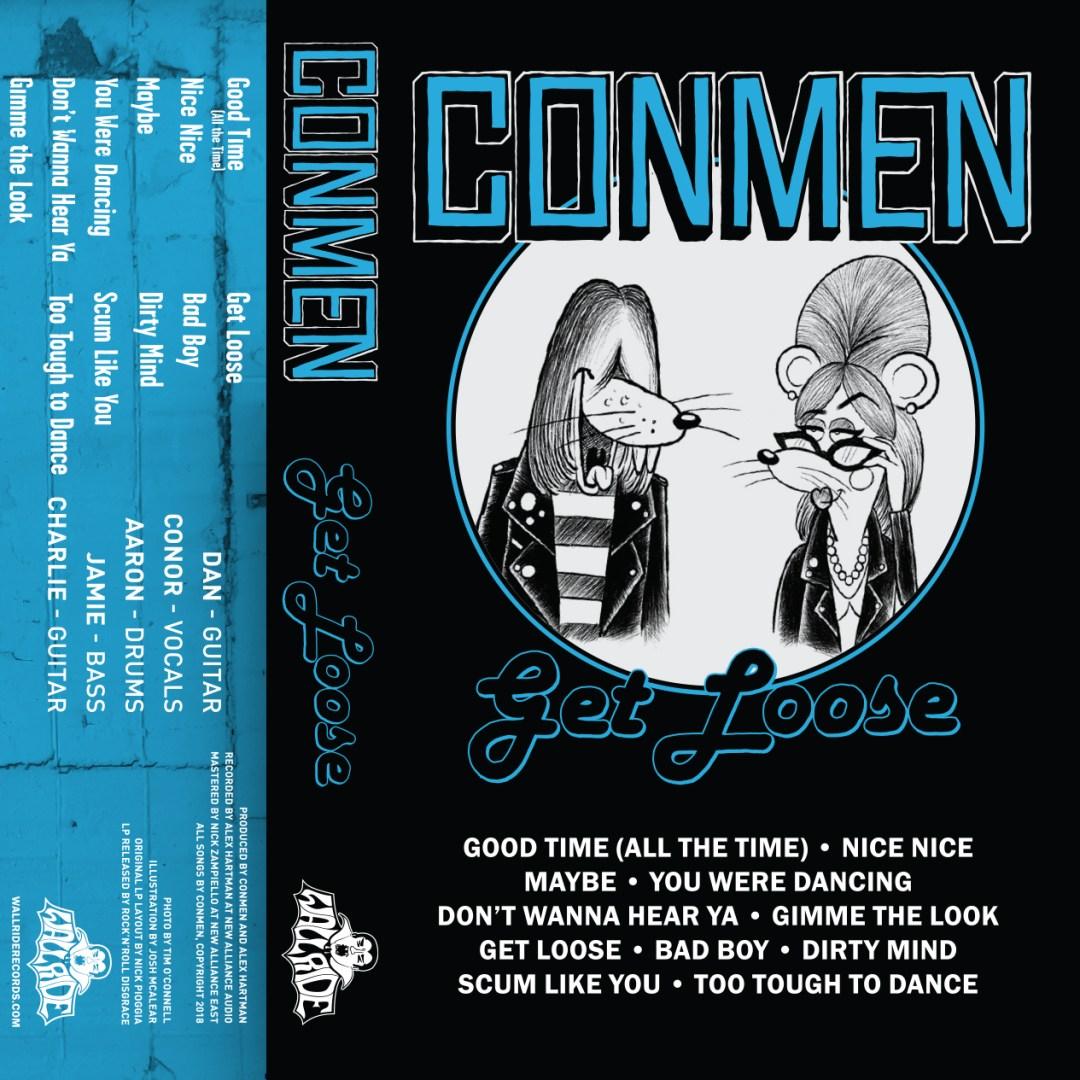 Conmen Get Loose Cassette Cover