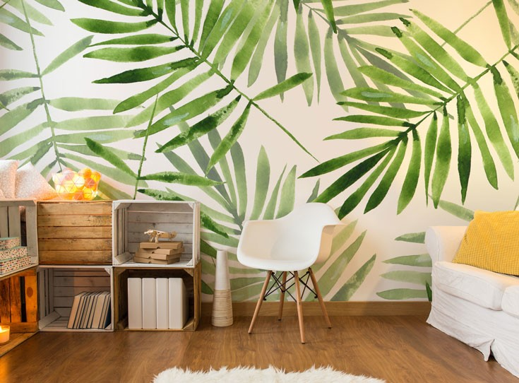 Tropical Wallpaper Trend Update Amp Get The Jungle Look