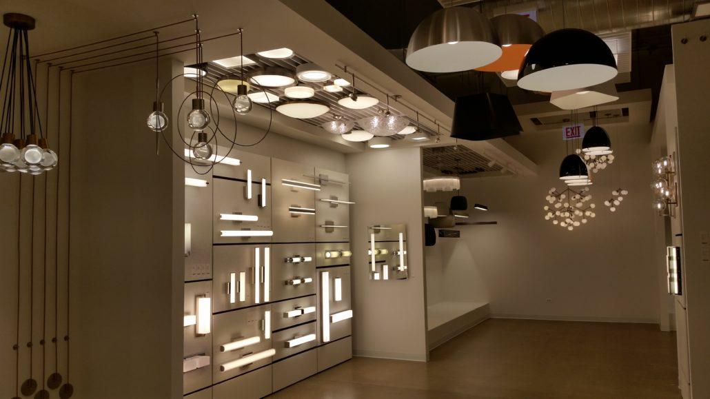 Fixtures Showroom Lighting