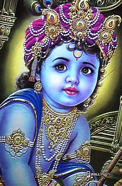 Baby Krishna Hd Images Wallsnapy