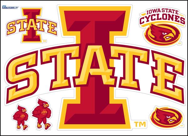 Iowa State Cyclones Football : WallStars – wall stickers ...