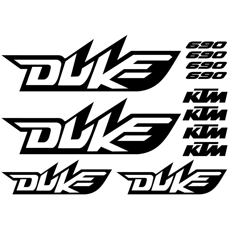 Wallstickers Folies Ktm 690 Duke Decal Stickers Kit