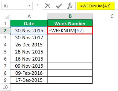 Пример номера недели 1-2