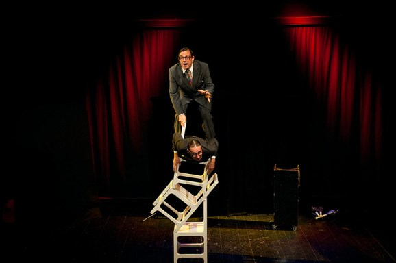 "WallStreetTheatre, ""Simply British"", Chair Balance"