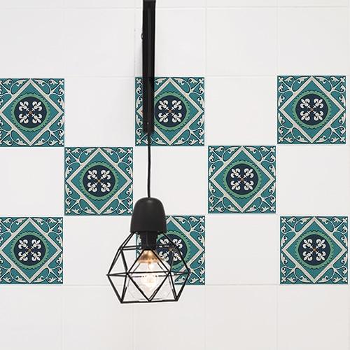 stickers evora decoration d interieur de carrelage