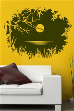 Wall Decal  Entry Through Branches