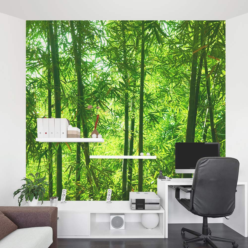 Bamboo Forest Wall Mural Part 46