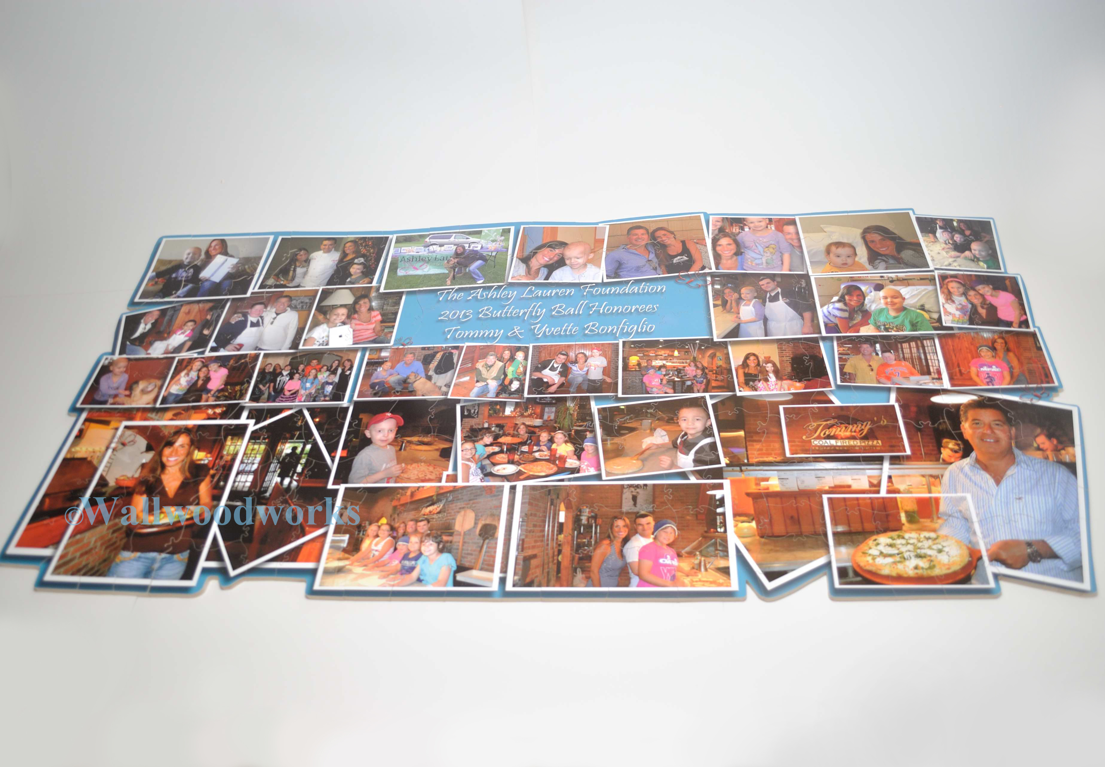 Photo Collage Puzzle Guest Book