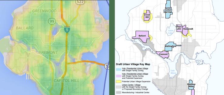 Walkability vs Urban Villages