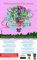 Peace Concert at Gas Works Park