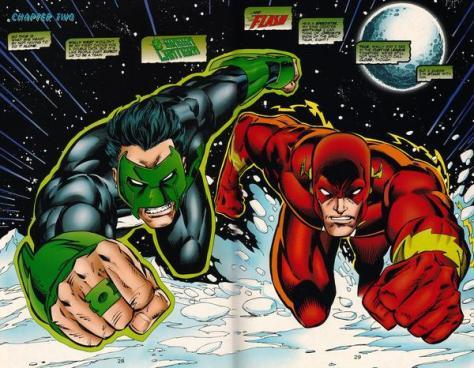 Flash Green Lantern