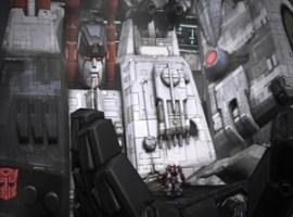 Metroplex fall of Cybertron
